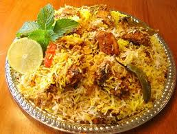 Spicy Hyderabadi Biryani