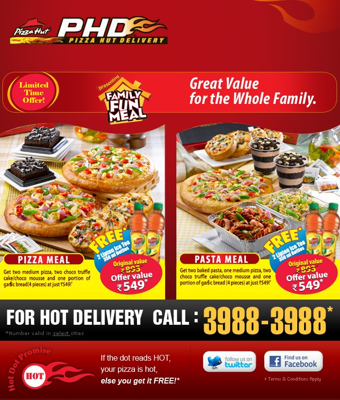 Pizza Hut Philippines Online Delivery. We Deliver the Best Pizza, Pasta, Chicken, Big Variety Box and More!