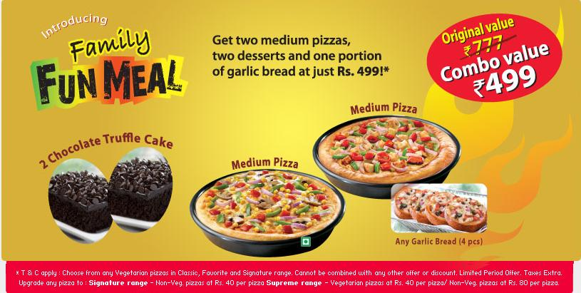 Needless to say, the next time I order dinner for my family it will not be from Pizza Hut!! Spent an hour trying to order a family meal deal from this place. They quoted us each pizza has 5 toppings and then choose 2 sides for $/ Yelp reviews.
