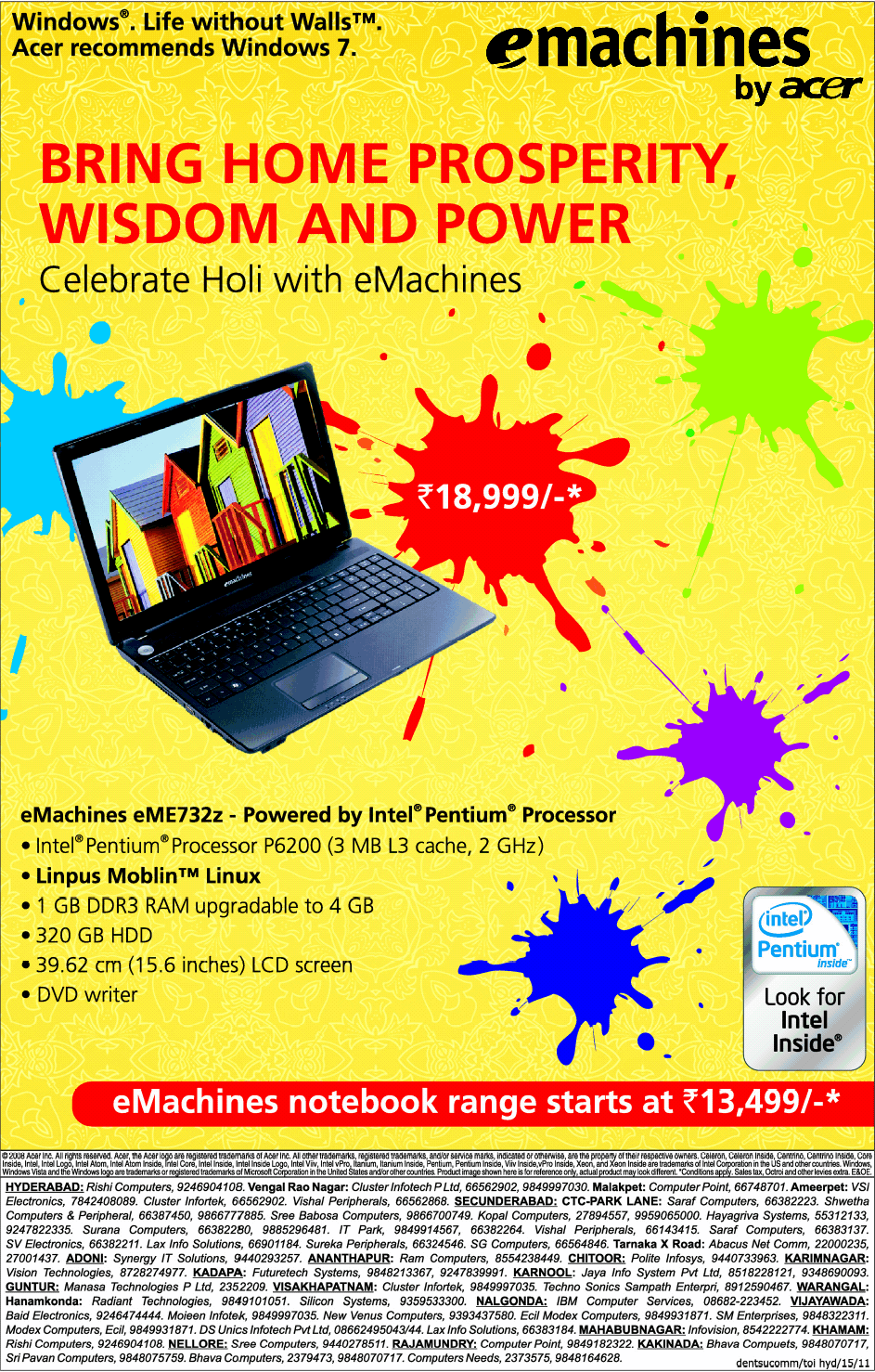 offer on laptop