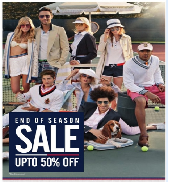 6fb44624 End of the Season SALE Upto 50% off at TOMMY HILFIGER FLAGSHIP STORES,  Hyderabad