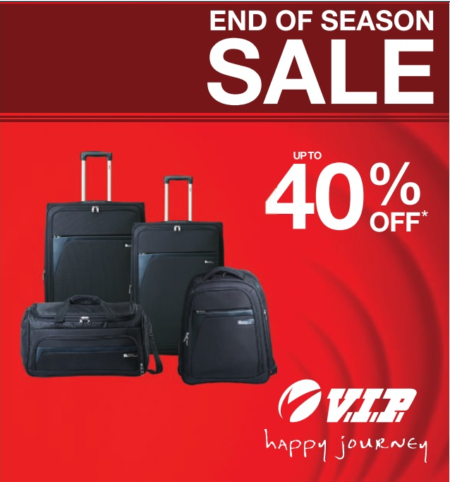 Up To 40 Off On Vip Luggage Bags At Hyderabad Dealshut