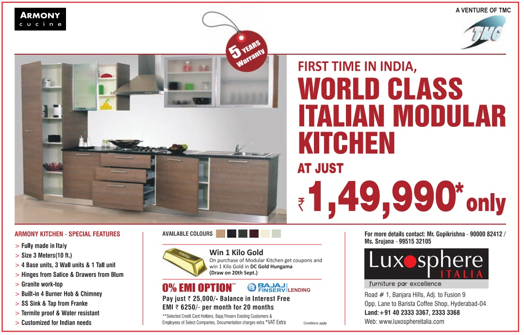 Fabulous WORLD CLASS ITALIAN MODULAR KITCHEN at just Rs.1,49,990 only in  1080 x 692 · 233 kB · jpeg
