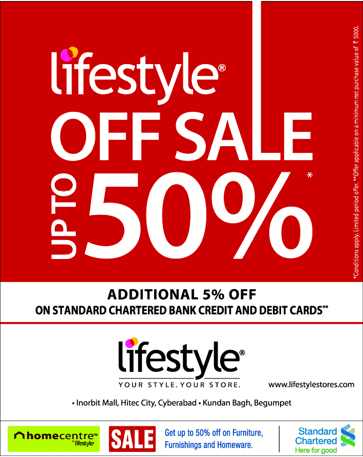 Lifestyle deals