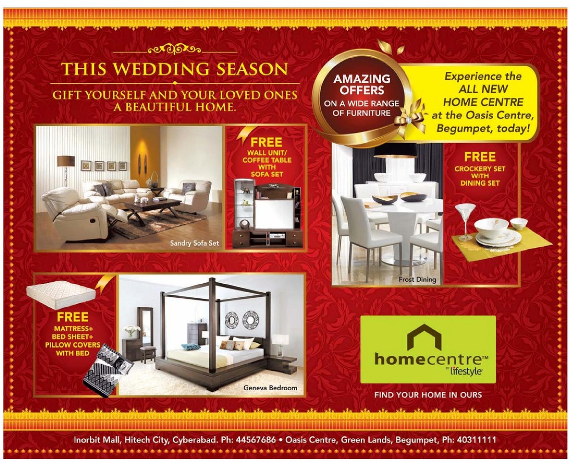 Home Centre AMAZING OFFERS on a wide range of Furniture  : home centre amazing offers on a wide ran 98305d from www.dealshut.com size 1144 x 920 jpeg 319kB