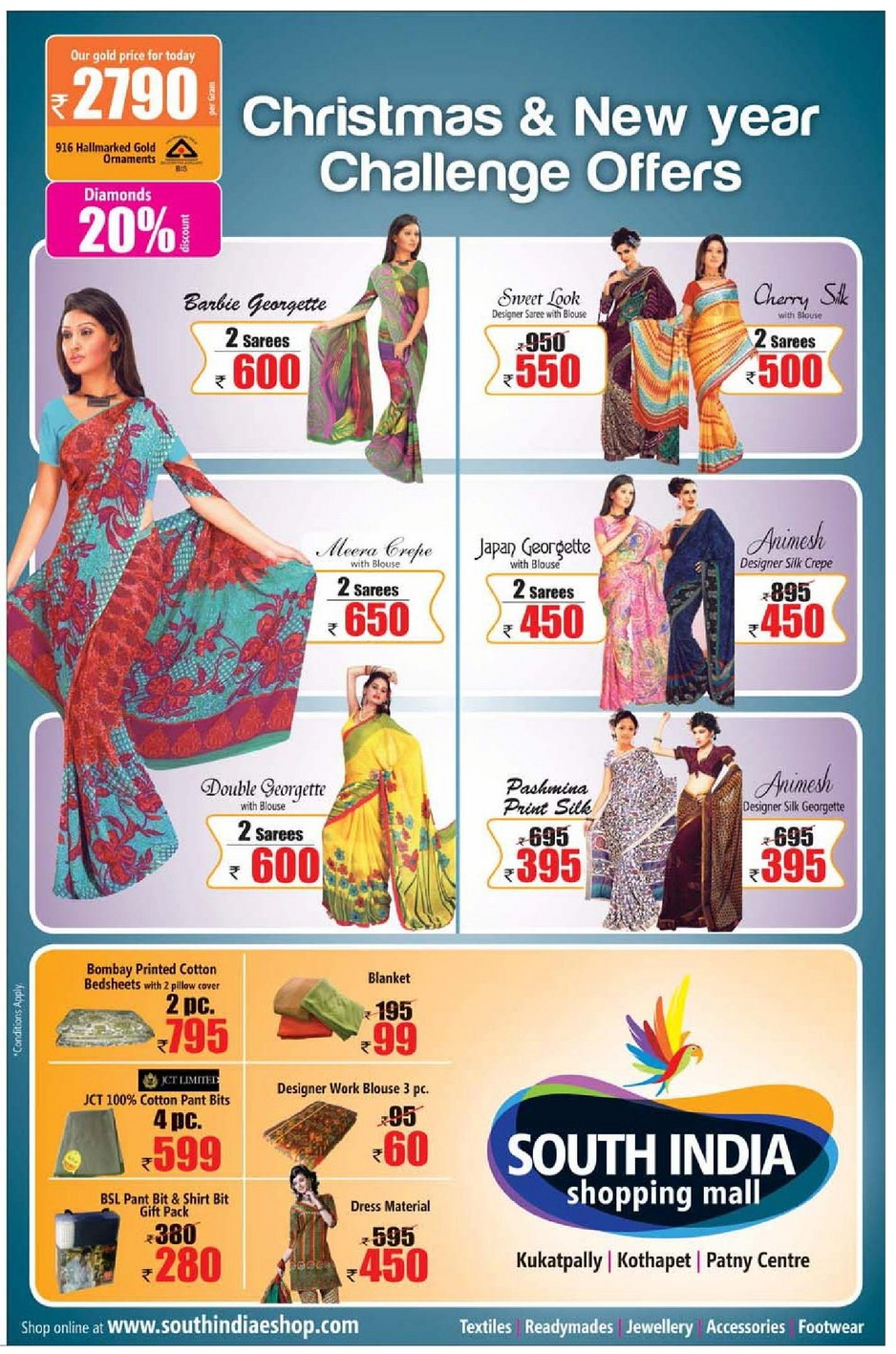 South India Shopping Mall e-Shop is a platform for a huge range of fashion products online. It was established by veterans in the trade of textiles, garments having experience of about 30 years in the field by free-desktop-stripper.mleswarlu, free-desktop-stripper.mluli, free-desktop-stripper.mlarayana, and free-desktop-stripper.mla Rao.