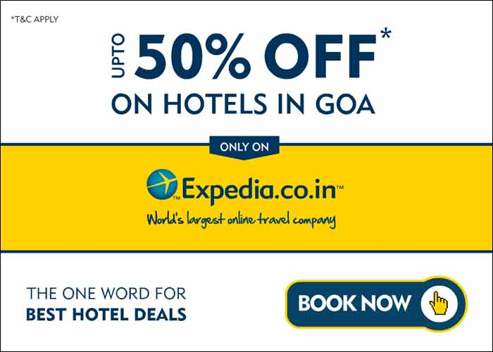 Expedia presents upto 50% off on Hotels Across India ...