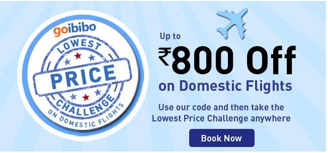 Goibibo is one stop solution to all your hassles and woes. With an array of Goibibo flight offers, you just don't have to worry about flight bookings. Through our flight booking discount coupons. you can now get the best out of your money and also bring a smile on the faces of your family and loved ones.
