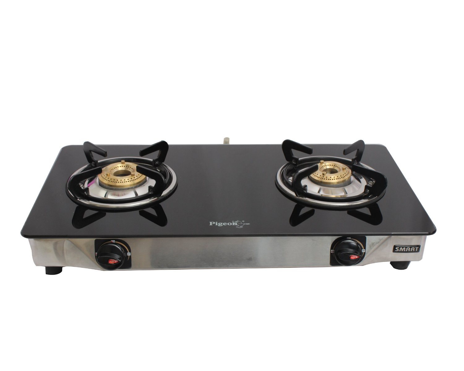 how to clean black flat stove