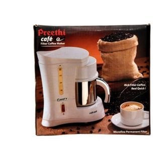 Preethi Coffee Maker Cafe Zest-Flat 40% off-Shopclues DealsHut