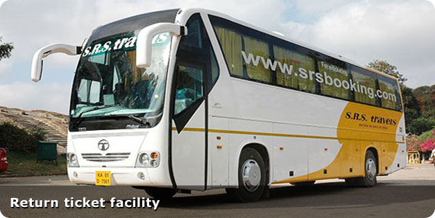 Discounts On Bus Tickets Booking At Srs Booking Dealshut